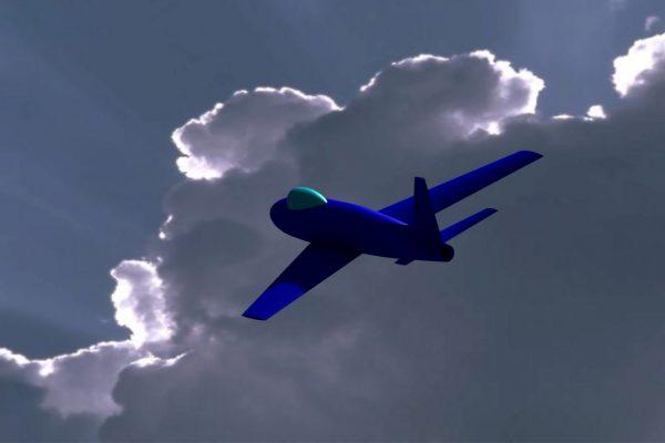 Jet & Clouds1